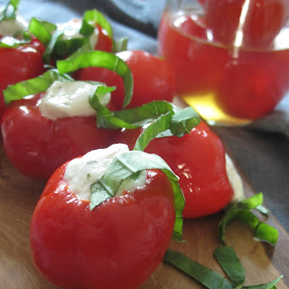 Stuffed Peppadew Peppers {#SundaySupper}