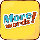 More Words! Word search puzzle. Anagram game
