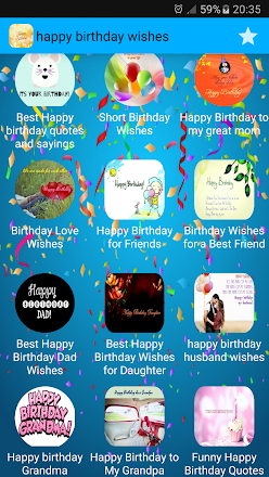 Happy Birthday Wishes 2017 Apps On Google Play
