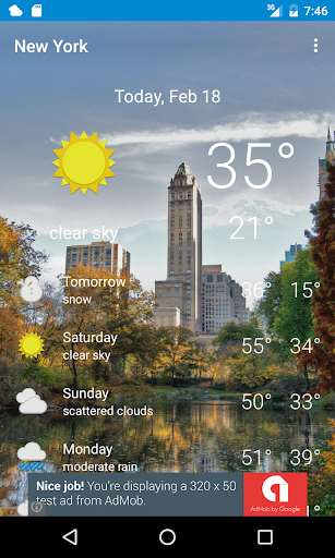 New York Weather