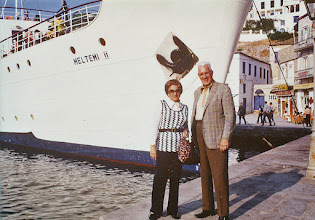 Photo: Dad and Mother loved to travel, especially after Dad retired in 1967 at age 70.