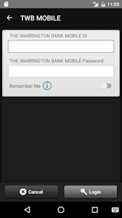 THE WARRINGTON BANK MOBILE- screenshot thumbnail