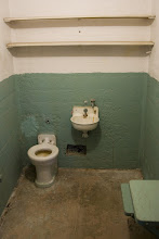 Photo: Prison cell 5'x9'x7'