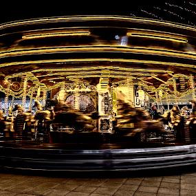 Magic roundabout by David Feuerhelm - City,  Street & Park  Amusement Parks