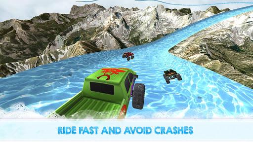 Monster Truck Water Slide Driving Simulator 1.0.0 screenshots 2