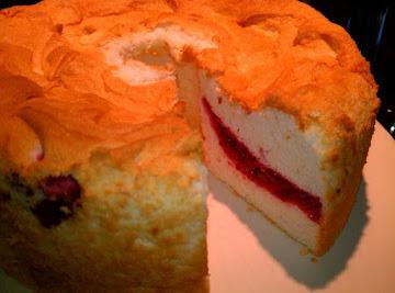 Raspberry Angel Food Cake Recipe