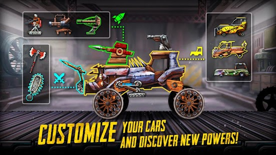 War Cars: Epic Blaze Zone Screenshot