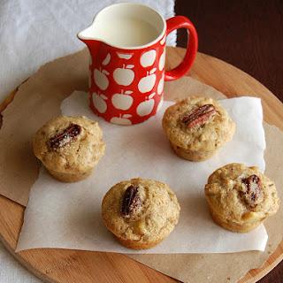 Apple-pecan Muffins