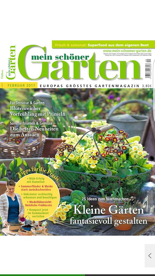 Mein Schöner Garten Magazin Applications Android Sur Google Play