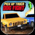 PickUp Truck Dog Fight