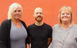 Christine Gustafsson, Anders Lindström & Karin Löw
