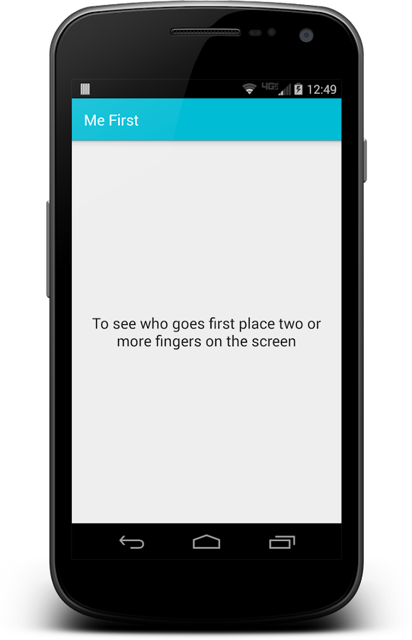 Me First - A Parenting Tool- screenshot