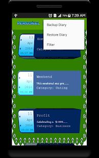 Личный дневник онлайн на андроид