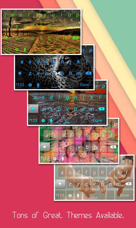 My Photo Keyboard- screenshot