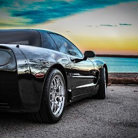Corvette Z06 by John Spain - Transportation Automobiles ( corvette, chevrolet, cars )