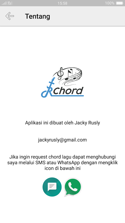 JRChord - Apl Android di Google Play