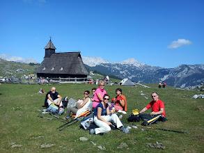 Photo: odmor uz pogled na Kamniske Alpe