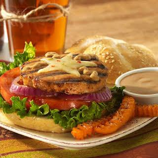 Chipotle Ranch Salmon Burgers.