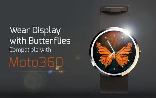 Wear Display with Butterflies