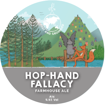 Logo of Lost And Grounded Hop Hand Fallacy