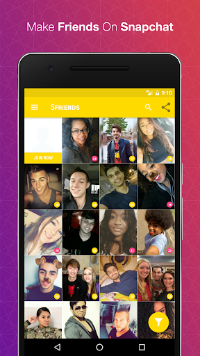 Download Free Usernames for Snapchat Google Play softwares