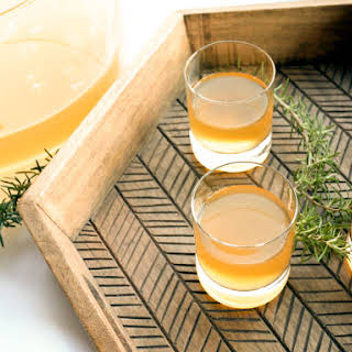 Smoked-Rosemary Rum Punch.