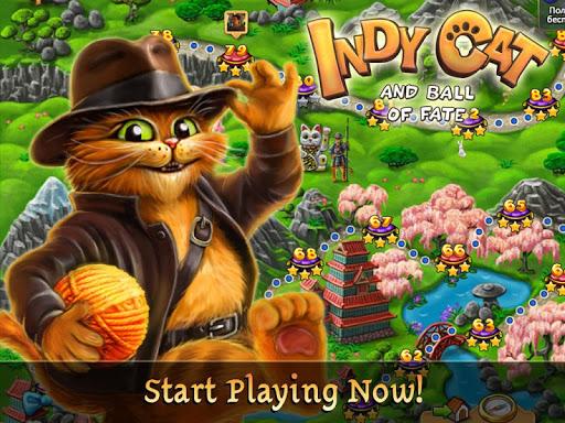 Indy Cat Match 3 screenshot 9