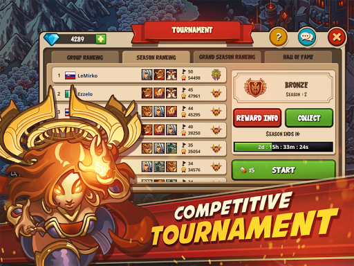 Empire Warriors Premium: Tower Defense Games 2.3.4 screenshots 5