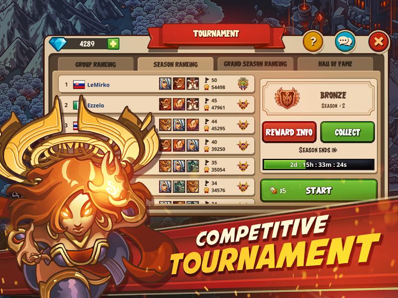 Empire Warriors Premium: Tactical TD Game Screenshot 4