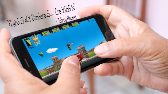 Johnny Rocket - Rocketman - Google Play Games Free - náhled