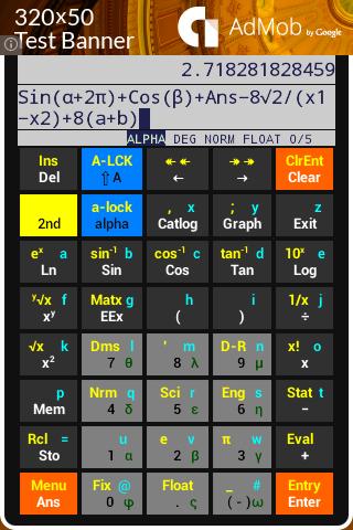 MC40 Scientific Calculator