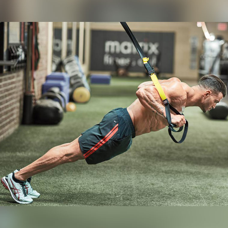 TRX pushup