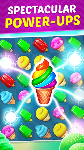 Ice Cream Paradise - Match 3 Puzzle Adventure 2.6.1 screenshots 3