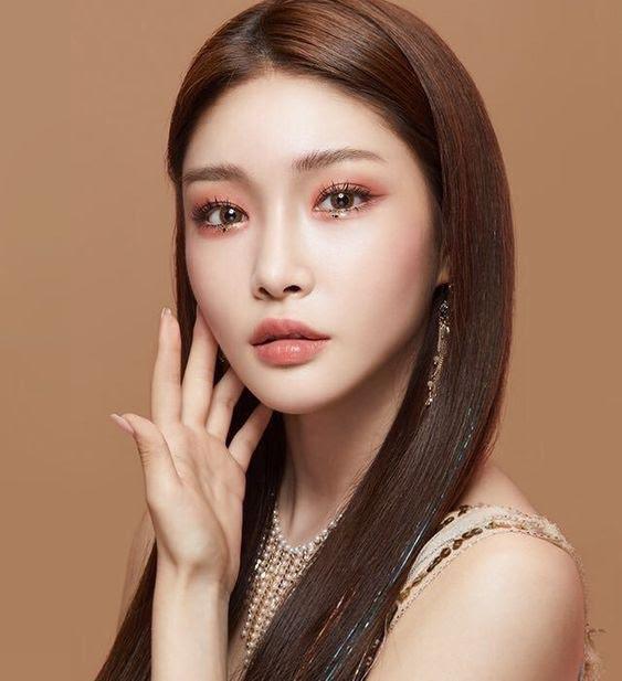 chungha makeup 2