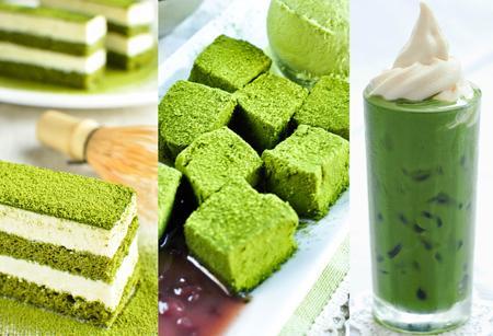 Image result for Món matcha - trà xanh của nhật