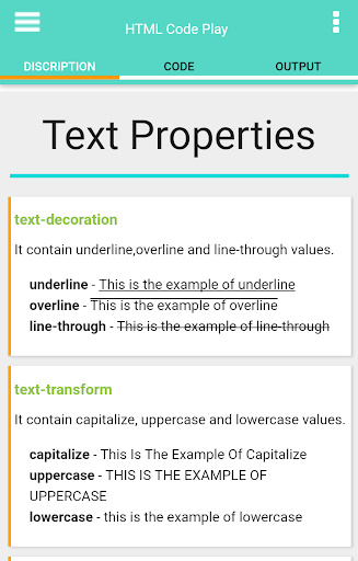HTML Code Play 6.5 screenshots 22