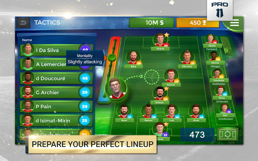 Pro 11 - Soccer Manager Game apkmr screenshots 12