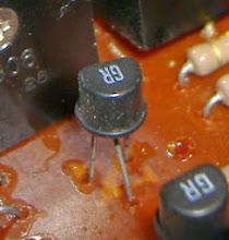 Photo: original transistors