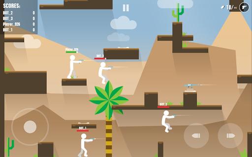 Stickman Battles: Online Shooter  captures d'écran 2
