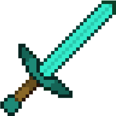 faithful diamond sword 32 x 32