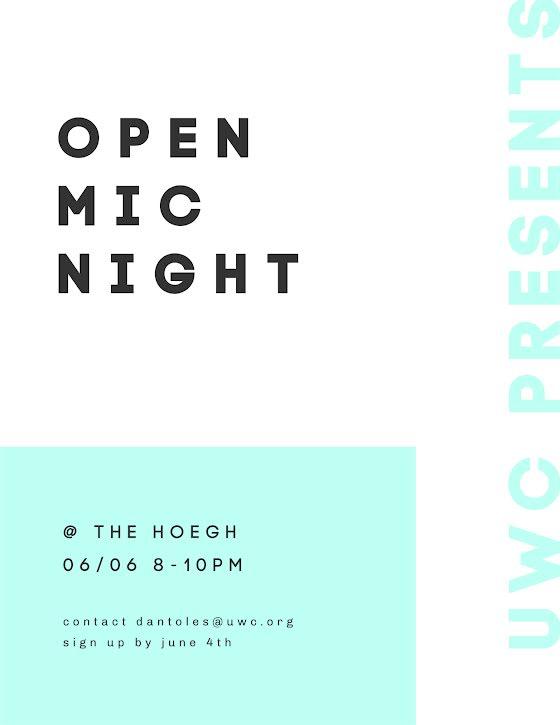 Open Mic Night - Flyer Template