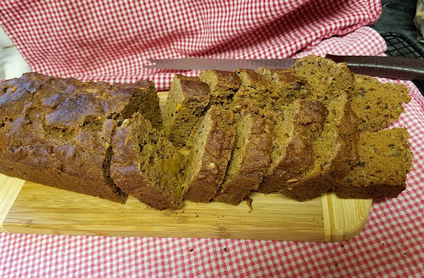 Pumpkin Bread For The Holidays Recipe