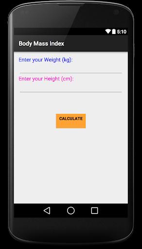 My BMI Calculator