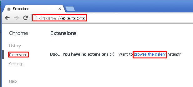 how to find extensions google chrome settings