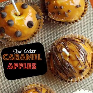 Slow Cooker Caramel Apples.