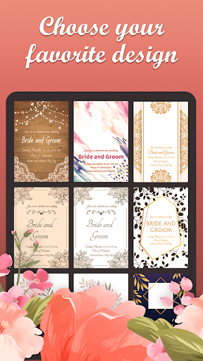 Wedding Cards Invitation Maker 6.3.0.0 screenshots 2