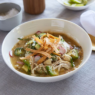 Crockpot Green Chicken Pozole
