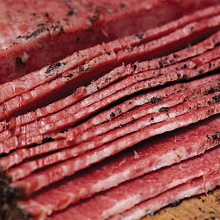 Homemade Pastrami.