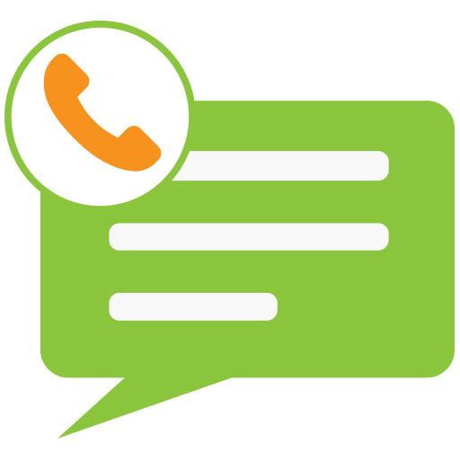 SMS Message & Call Screening Icon