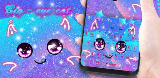 Big Eye Cat Keyboard Theme for PC